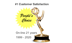 amusement products customer service award