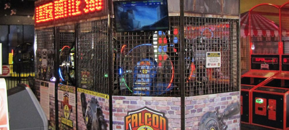 Lazer Battle Indoor Attraction